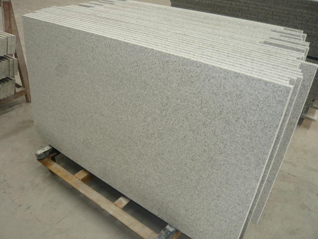 Shandong White Pearl Granite Tiles for Flooring
