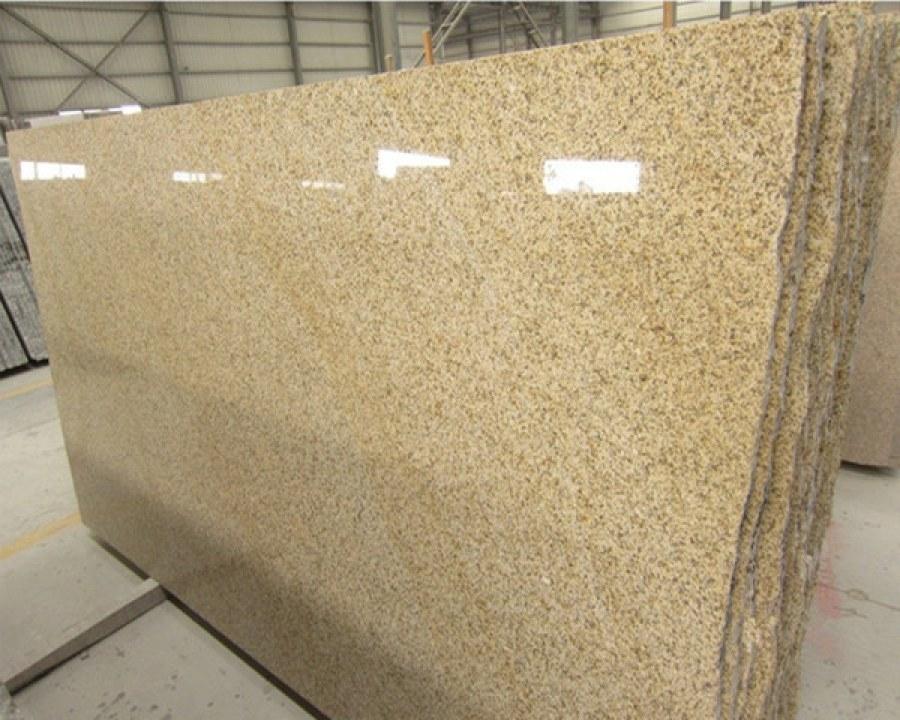 Shangdong Rust Granite Slabs Polished Yellow Granite Slabs