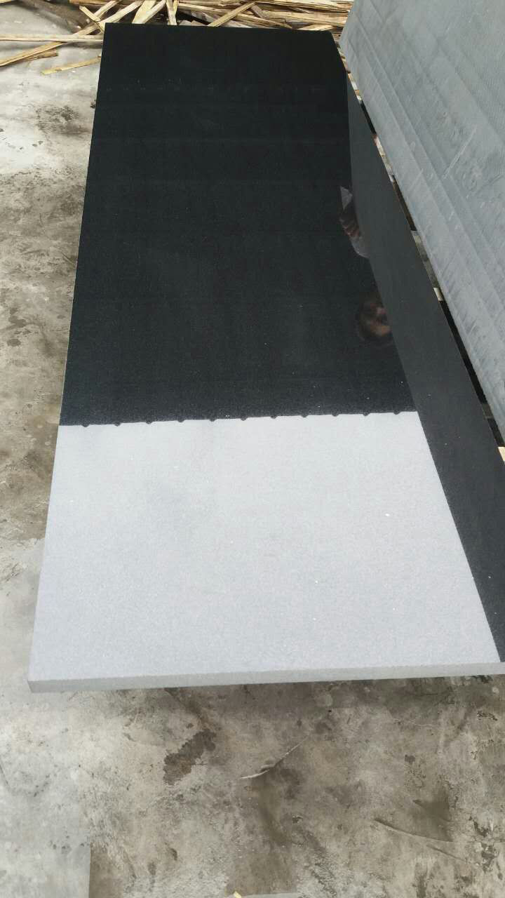 Shanxi Black A Granite Polished Granite Countertops