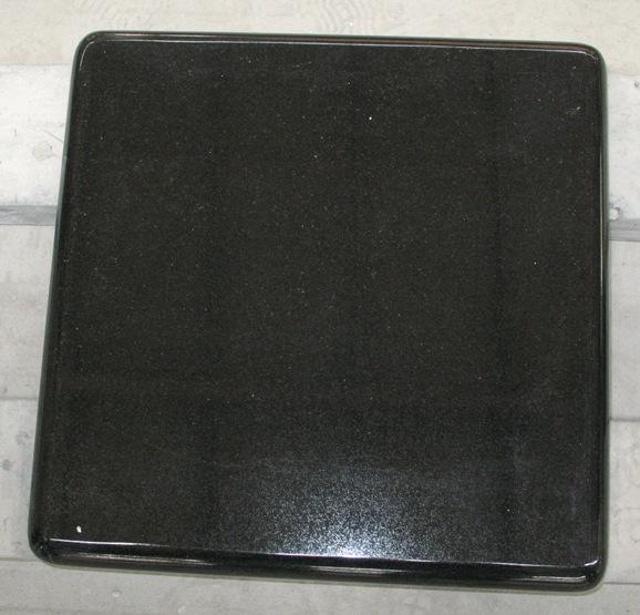 Shanxi Black Chinese Granite Polished Tiles