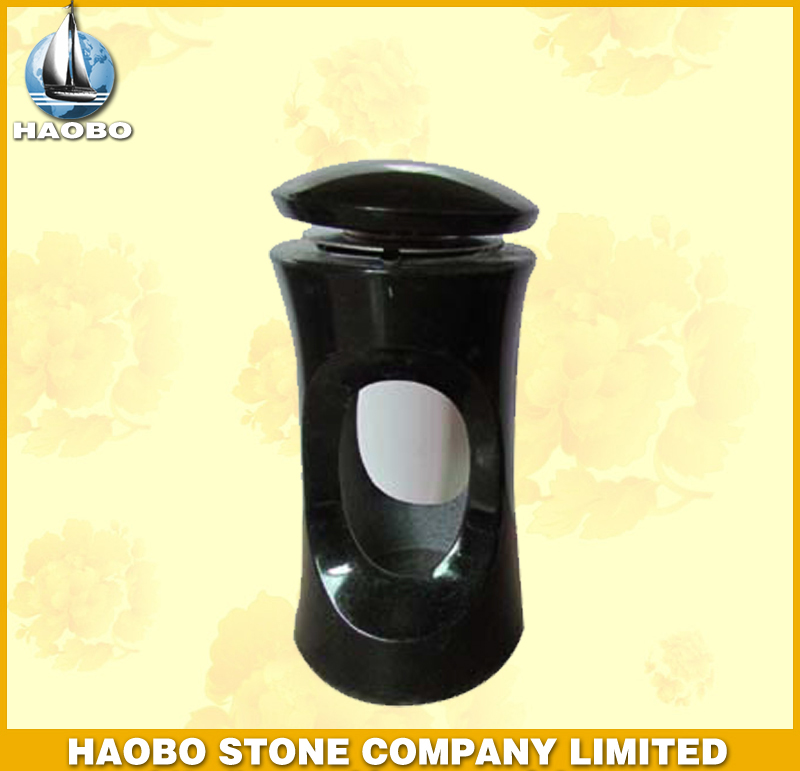 Shanxi Black Granite Lamp HBL004