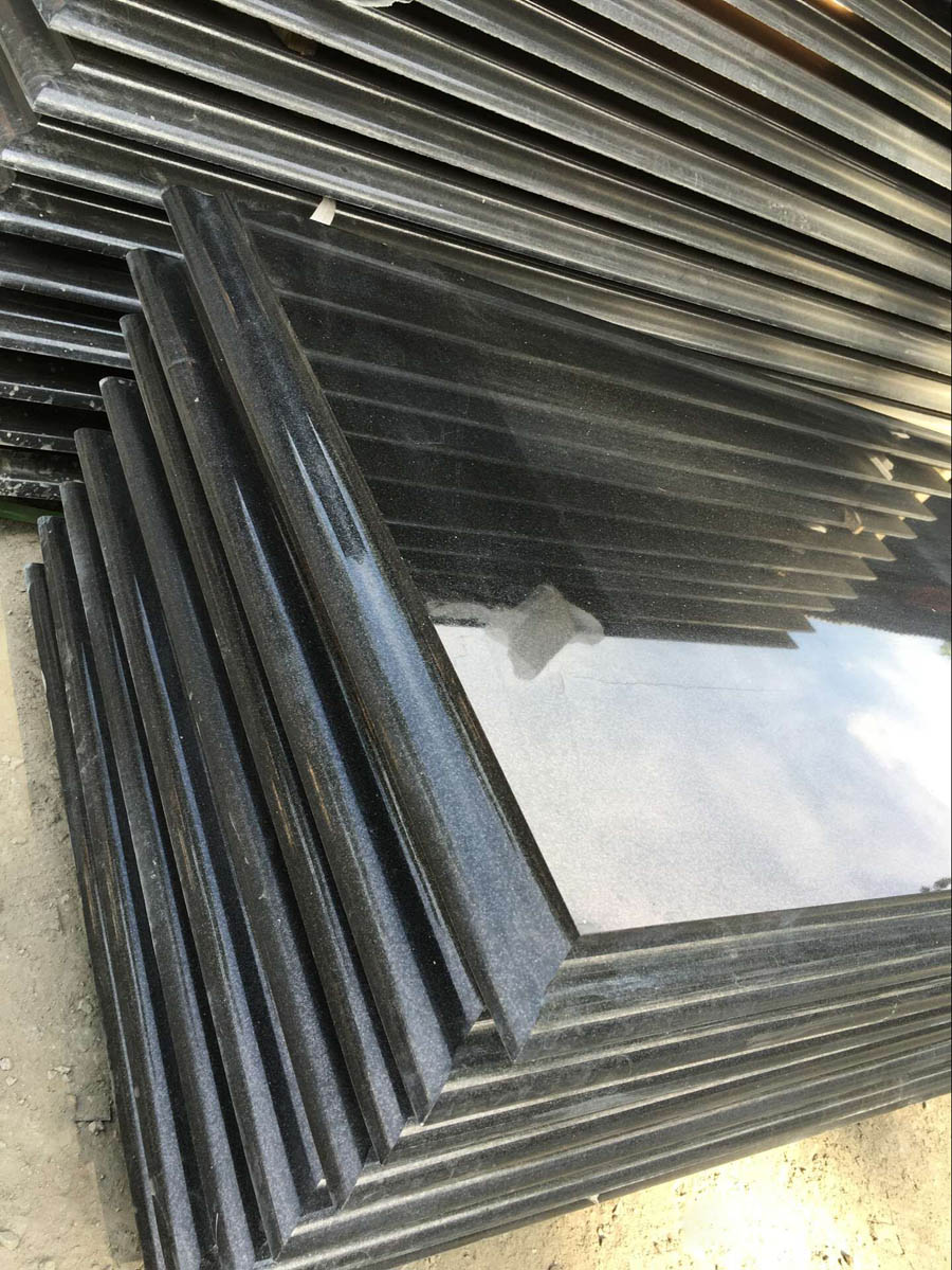 Shanxi Black Granite Polished Countertops