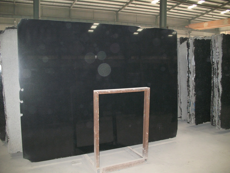 Shanxi Black Granite Slabs Chinese Top Quality Black Granite Slabs