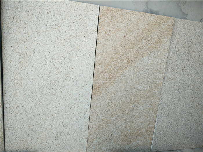 Shijing Rusty Granite Tiles Beige Flooring Stone