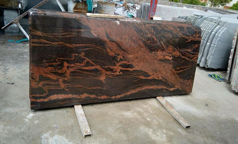 Shimoga Red Granite Slabs Premium Quality Granite Slabs