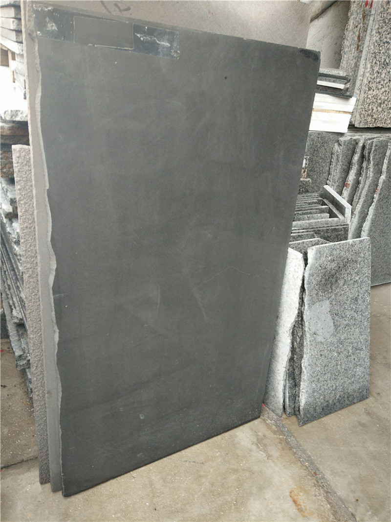 Sichuan Black Sandstone Polished Paving Stone