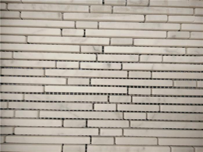Sichuan Pure White Marble Mosaic