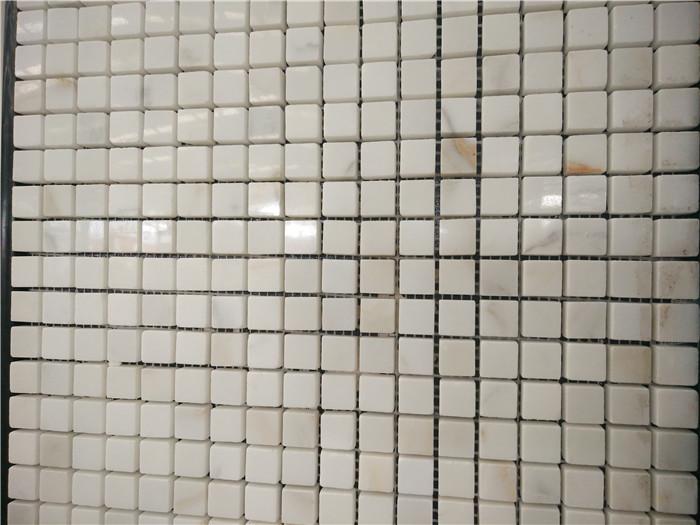 Sichuan Pure White Stone Mosaic