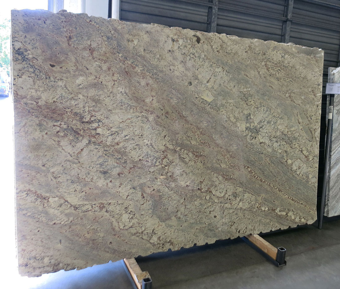 Sienna Bordeaux Polished Slabs Brazil Beige Granite Slabs