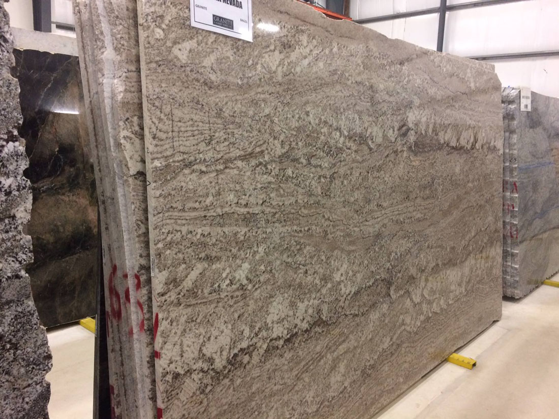 Sierra Nevada Granite Slab Beige Granite Slabs