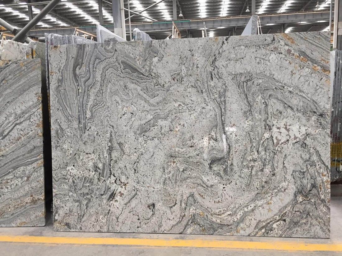 Silver Canyon Grey Granite Slabs Top Quality Granite Stone Slabs