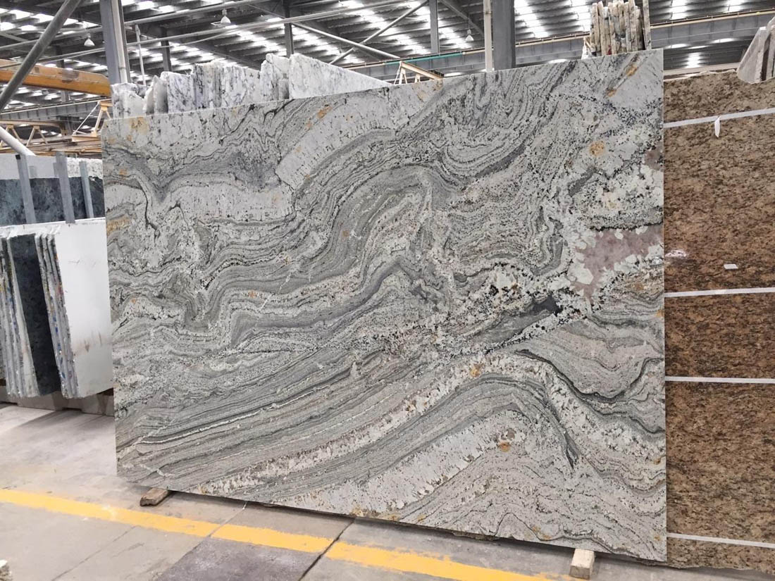 Silver Canyon Slabs Grey Polished Granite Slabs with Top Quality