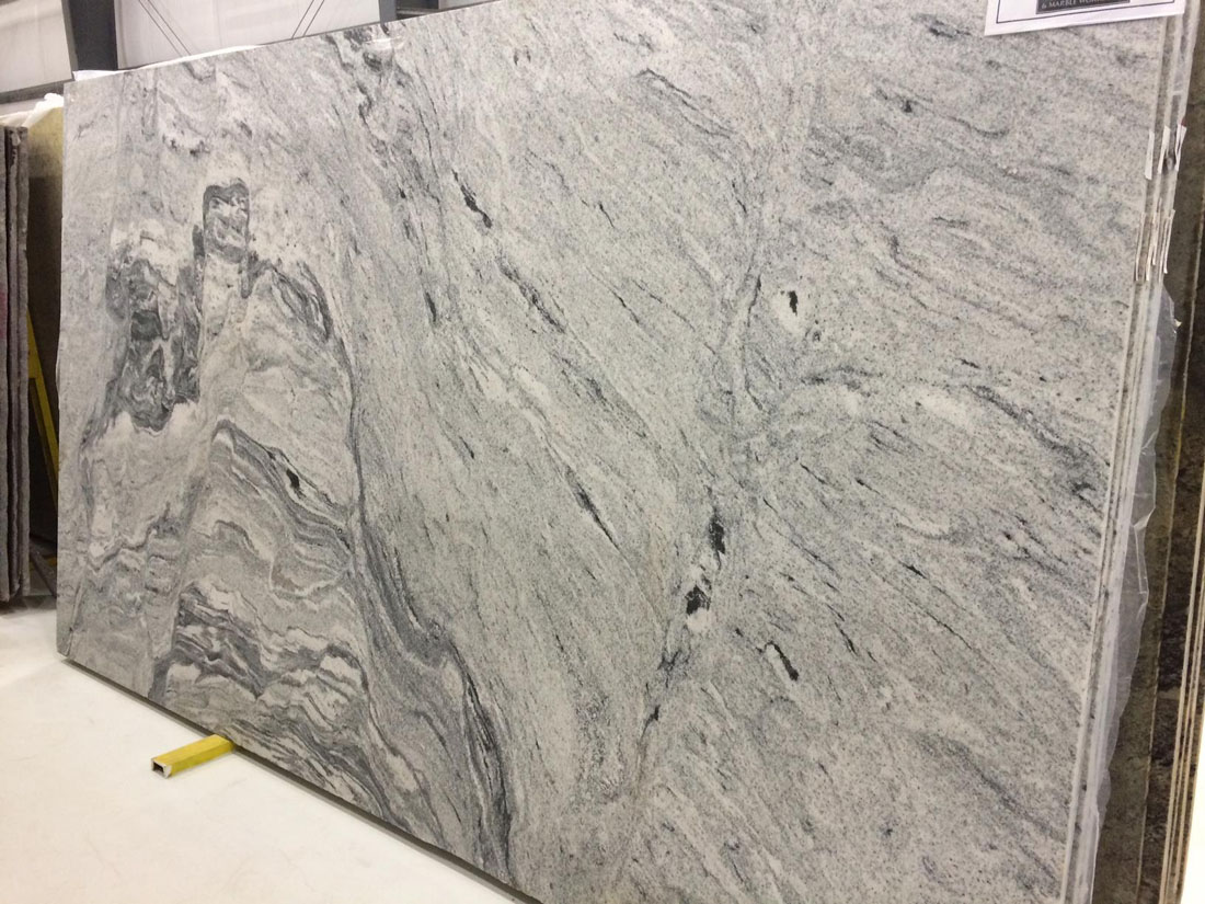 Silver Cloud Granite Polished Granite Slabs