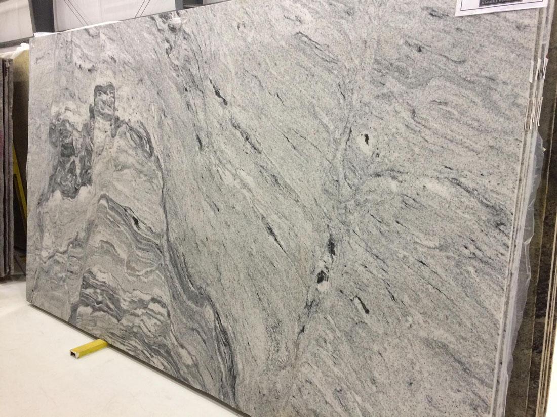 Silver Cloud Granite Polished Granite Slabs