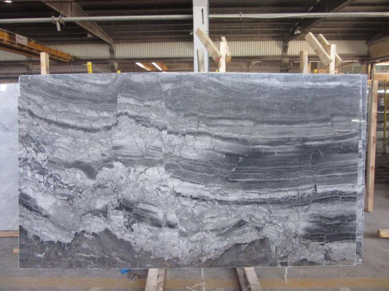 Silver Fantasy Marble Grey Polished Marble Slabs