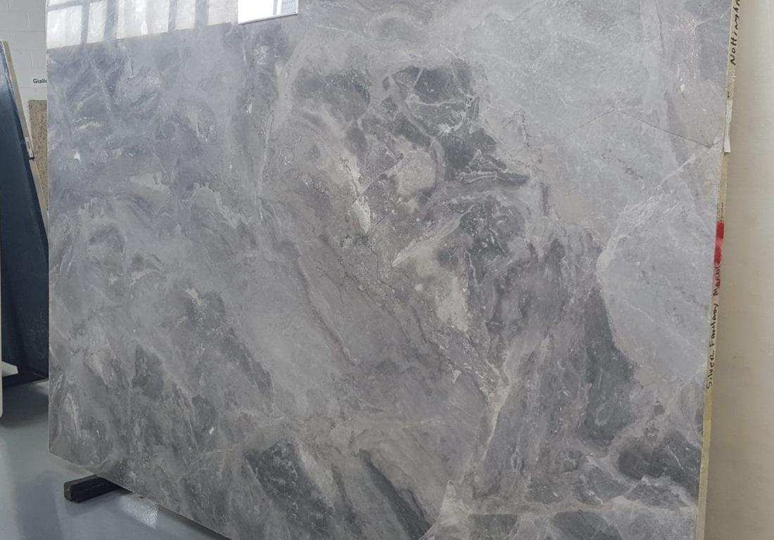 Silver Fantasy Marble Slab Turkish Grey Marble Stone Slabs