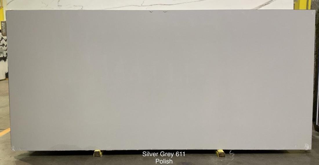 Silver Grey Quartz Stone Slabs Competitive Artificial Stone Slabs