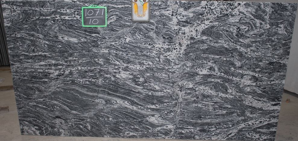 Silver Lighting Granite Slabs Grey Polished Granite Slabs