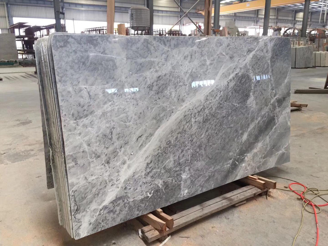 Silver Mink Marble Polished Grey Marble from China