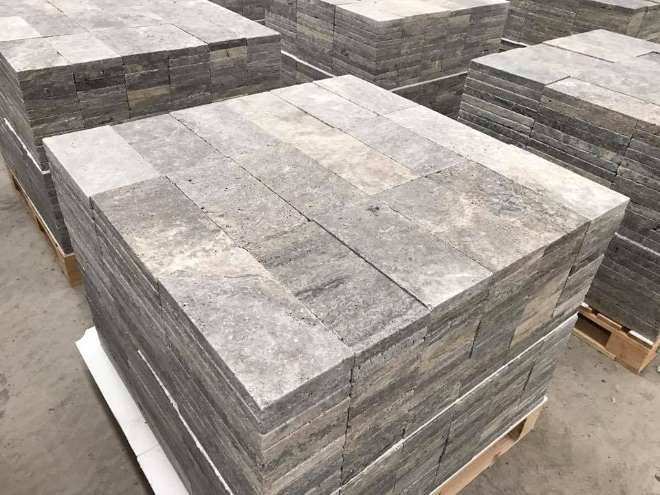 Silver Travertine Tiles Grey Travertine Flooring Tiles