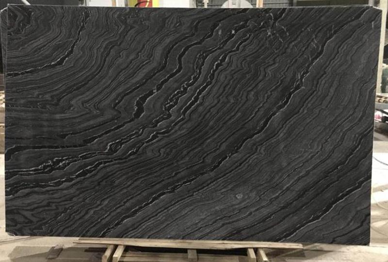 Silver Wave Marble Slabs Black Marble Slabs