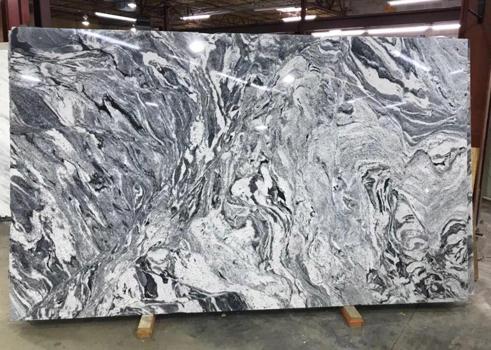 Silver White Granite Slabs Polished Indian Grey Granite Stone Slabs