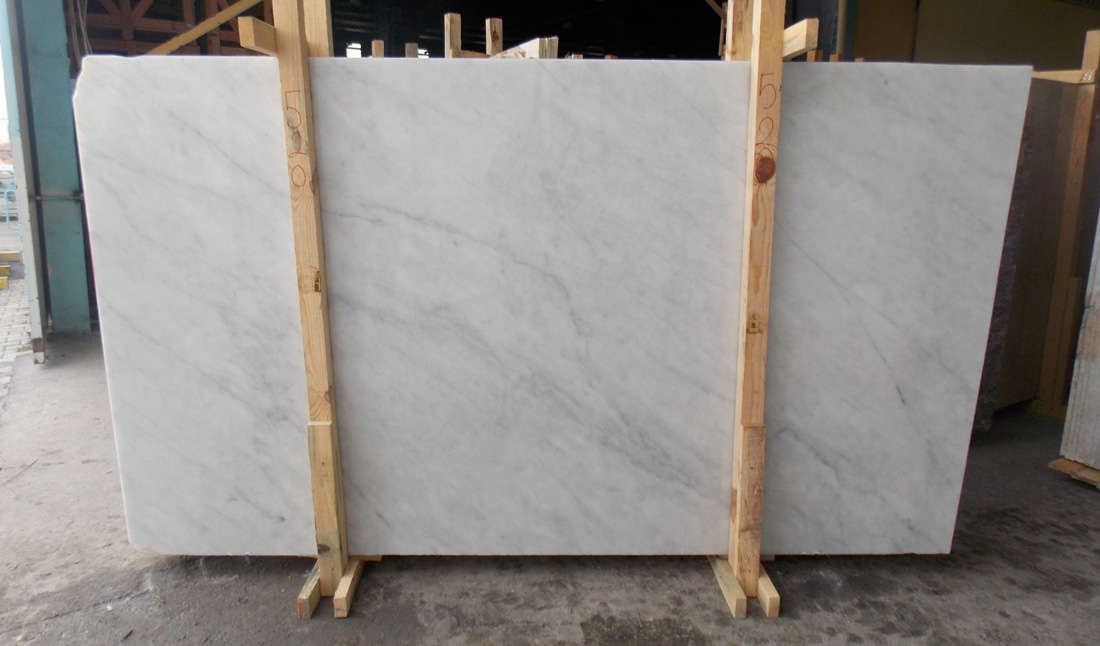 Silver White Marble Slabs Polished Top Quality Stone Slabs