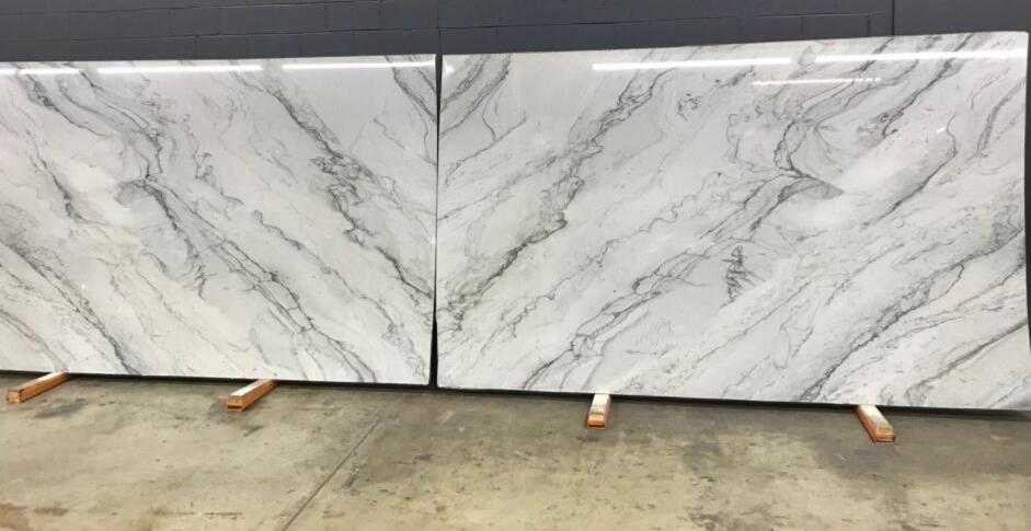 Sirius White Polished Quartzite Slabs White Quartzite Stone Slabs