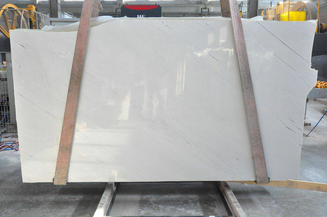 Sivec White Marble High Quality White Slabs