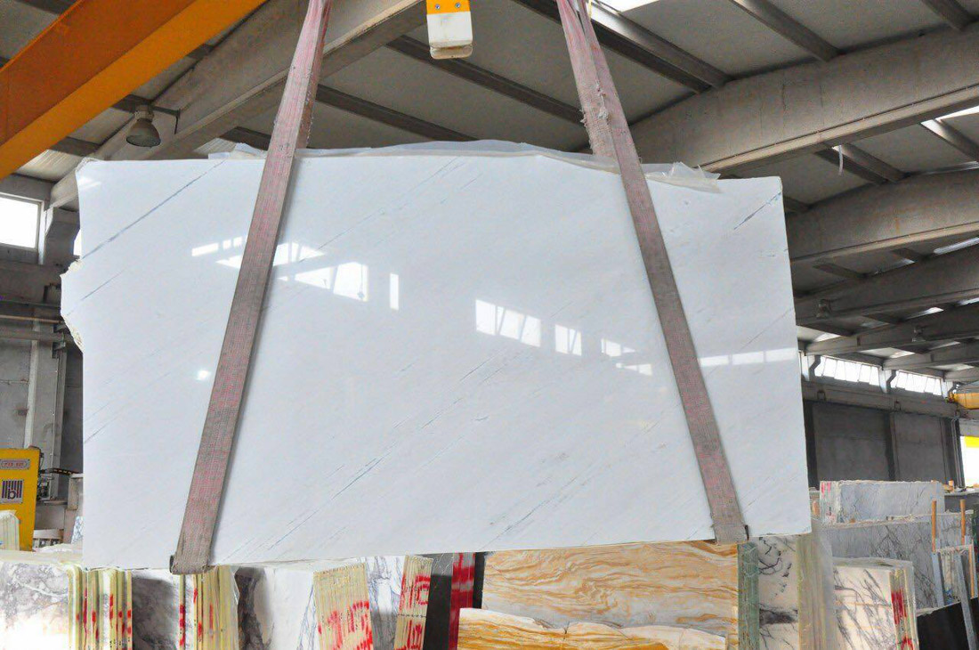 Sivec White Marble Slab Polished White Marble Slabs