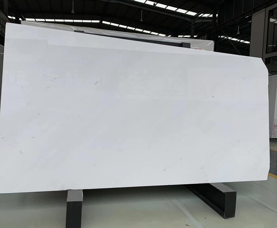 Sivec White Marble Slabs White Polished Stone Slabs