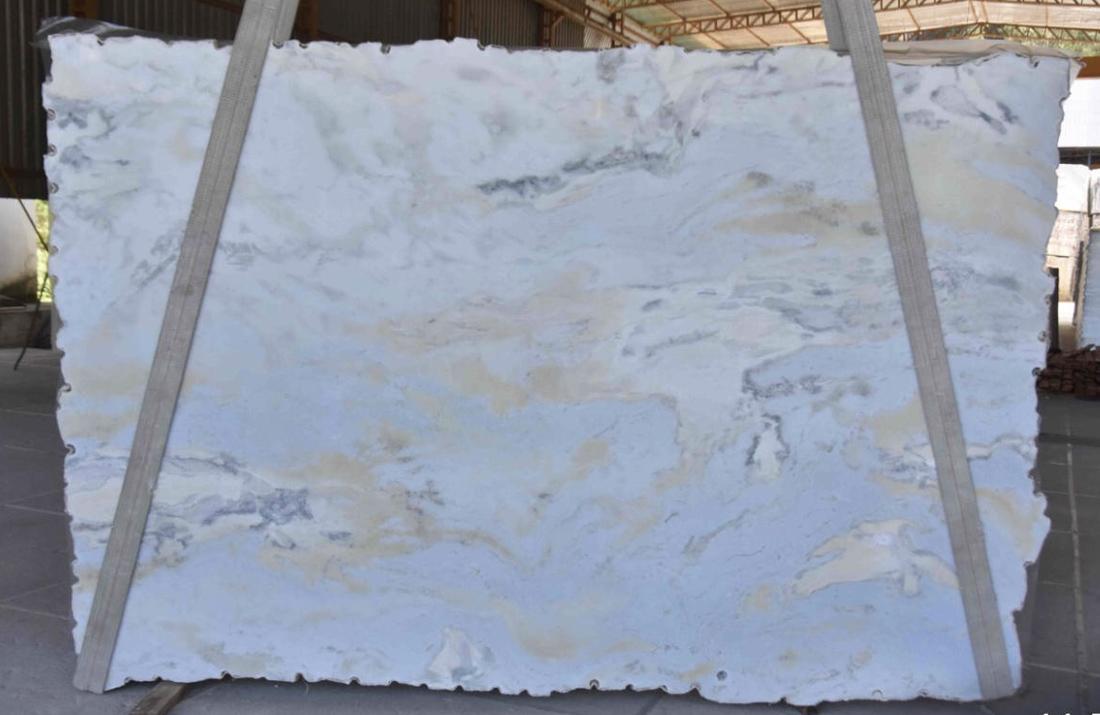 Sky Blue Marble Slabs Brazilian Blue Marble Slabs