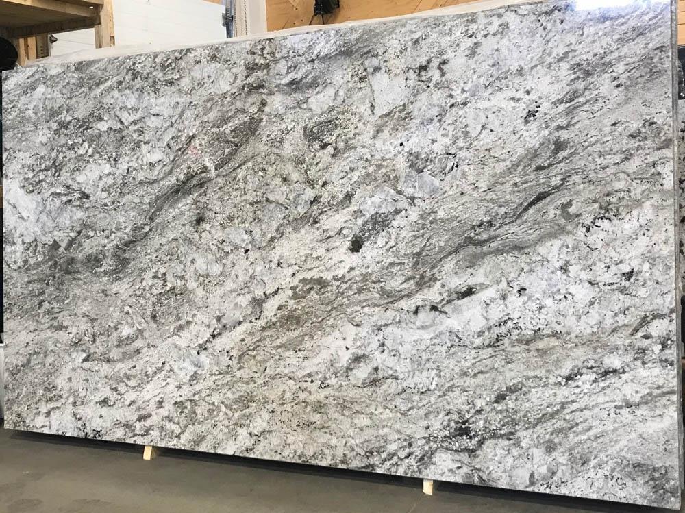Smoky Mountain Granite Slabs Grey Polished Granite Slabs for Countertops