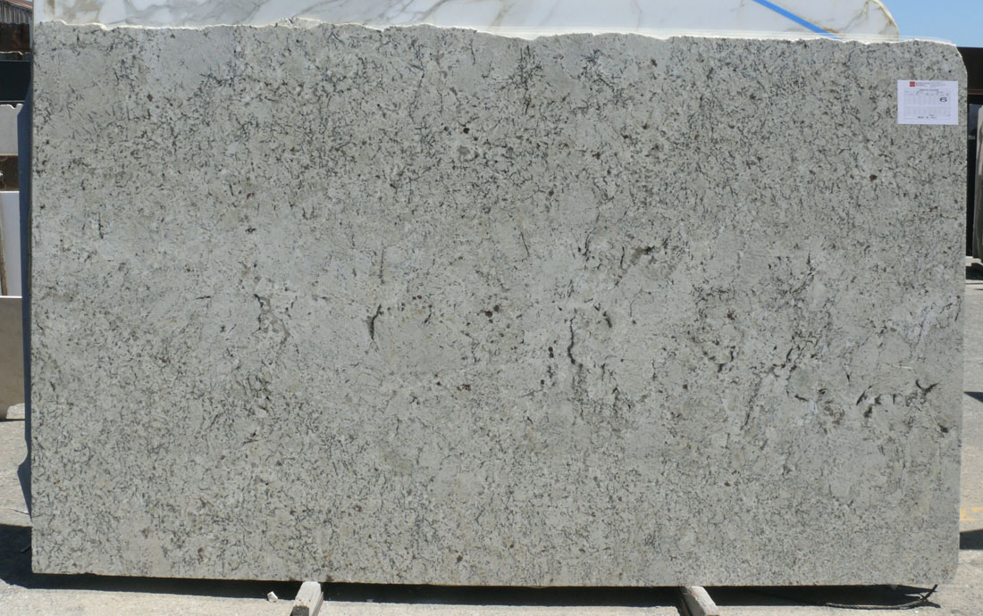 Snow Fall Granite Slab Polished White