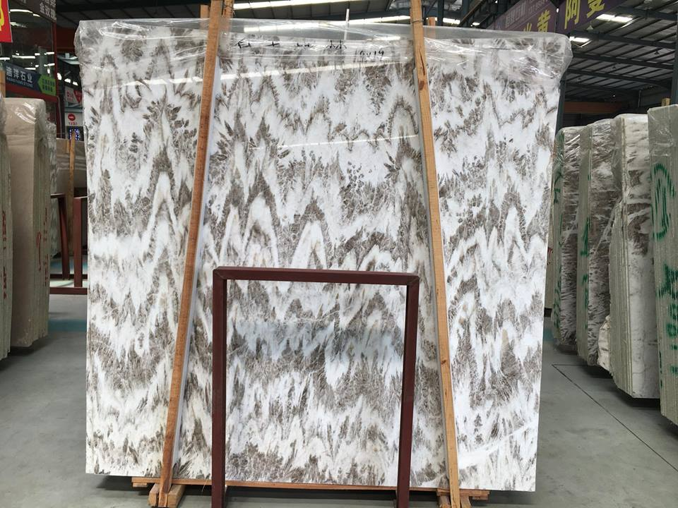 Snow Forest Marble Polished Slabs