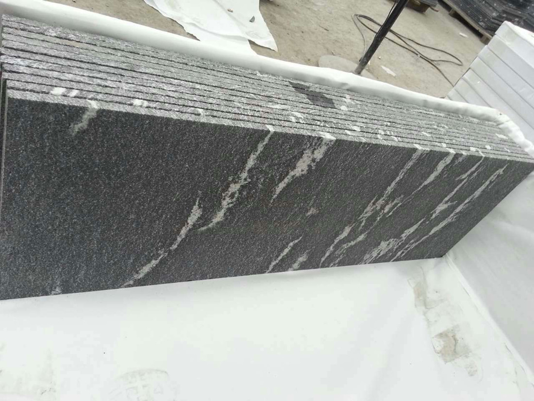 Snow Grey Slab Chinese Granite Stone Slabs
