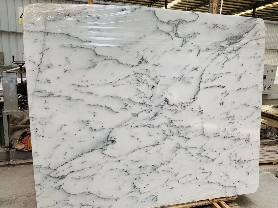 Snow White Marble Big Slab Top Quality White Marble Stone Slabs