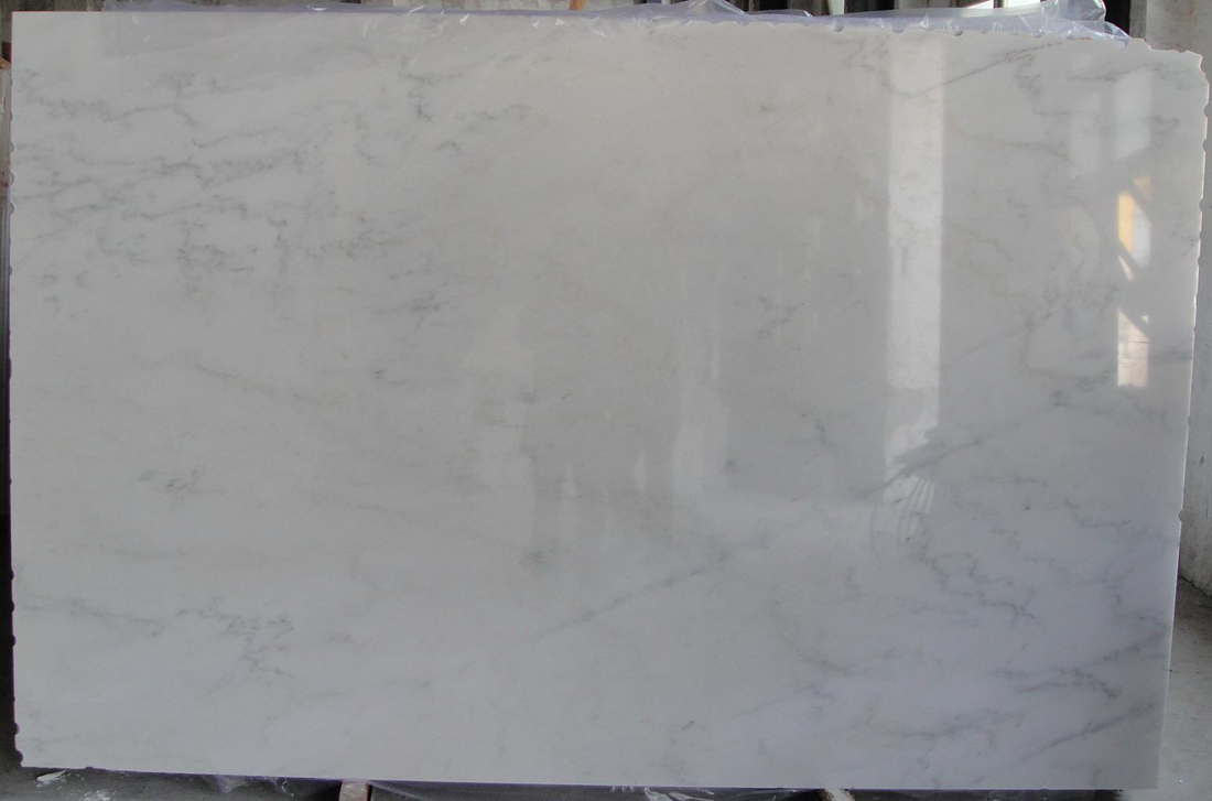 Snow White Marble Slabs Polished White Marble Slabs