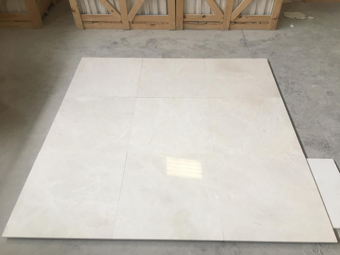 Snow White Marble Tiles Flooring White Tiles