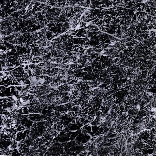 Snowflake Black Marble