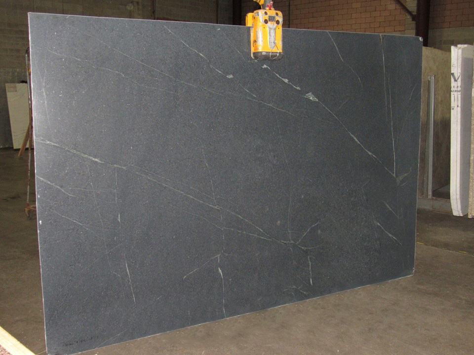 Soapstone Grey Slabs from Italy