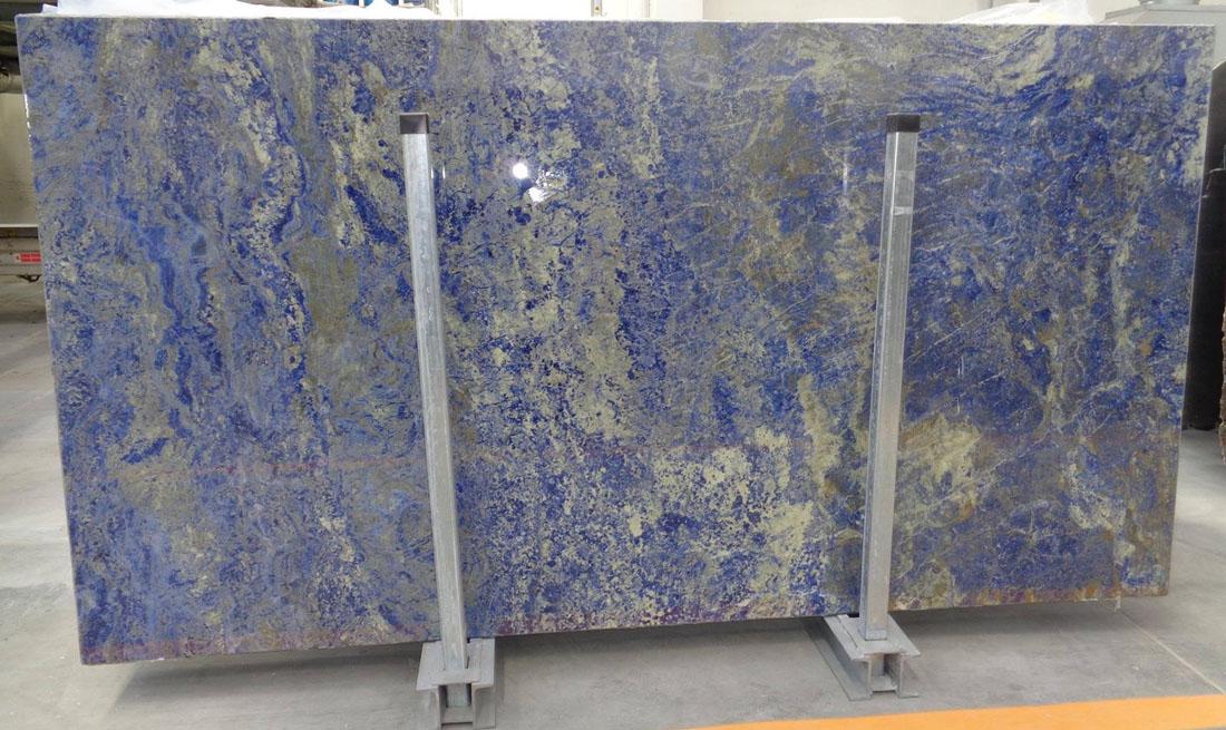 Sodalite Extra Granite Slabs Blue Polished Granite Slabs