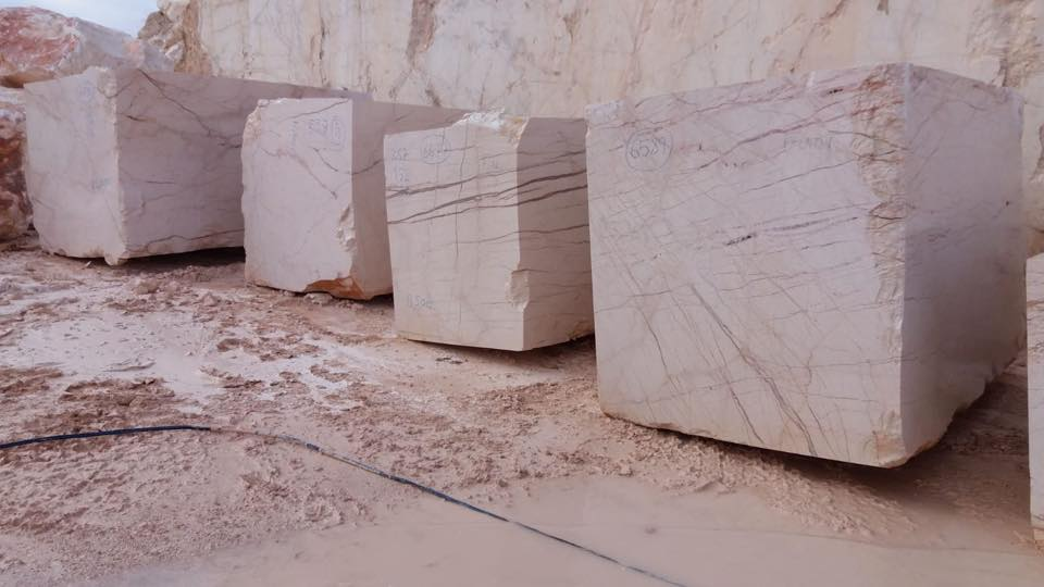 Sofita Beige Block Turkish Beige Marble Blocks