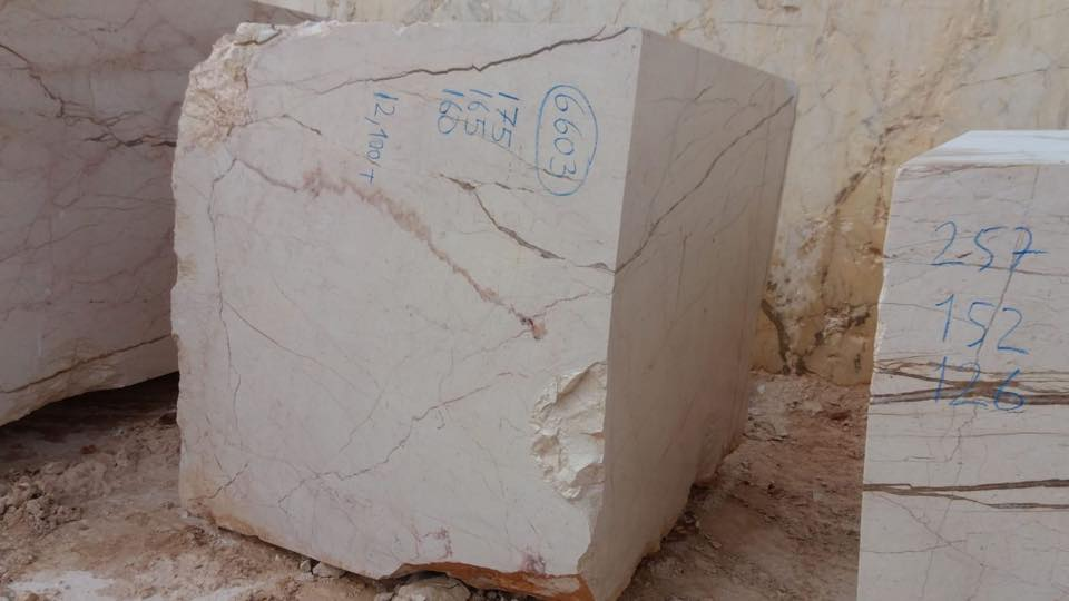 Sofita Beige Blocks Beige Natural Marble Blocks