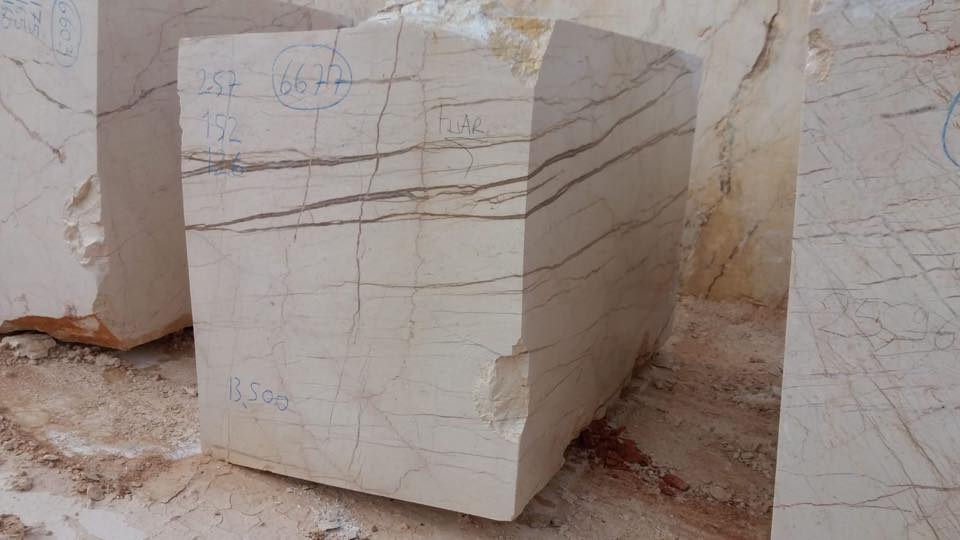 Sofita Beige Marble Blocks Beige Natural Stone Blocks
