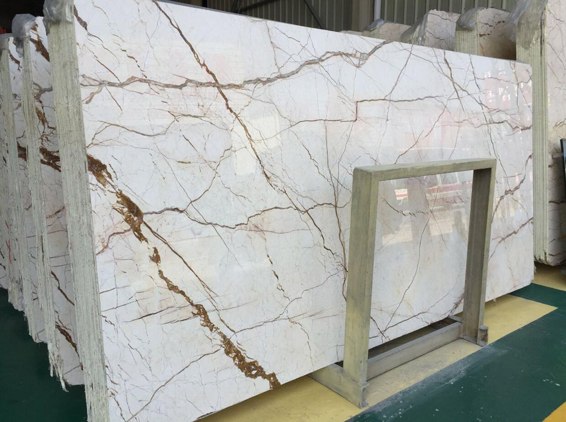 Sofitel Gold Marble Slabs Polished Beige Marble Slabs