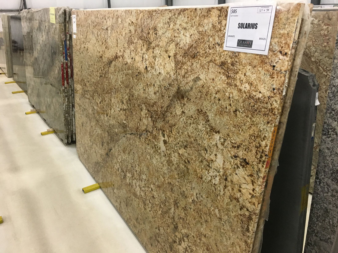 Solarius Granite Slabs Polished Beige Granite Slabs