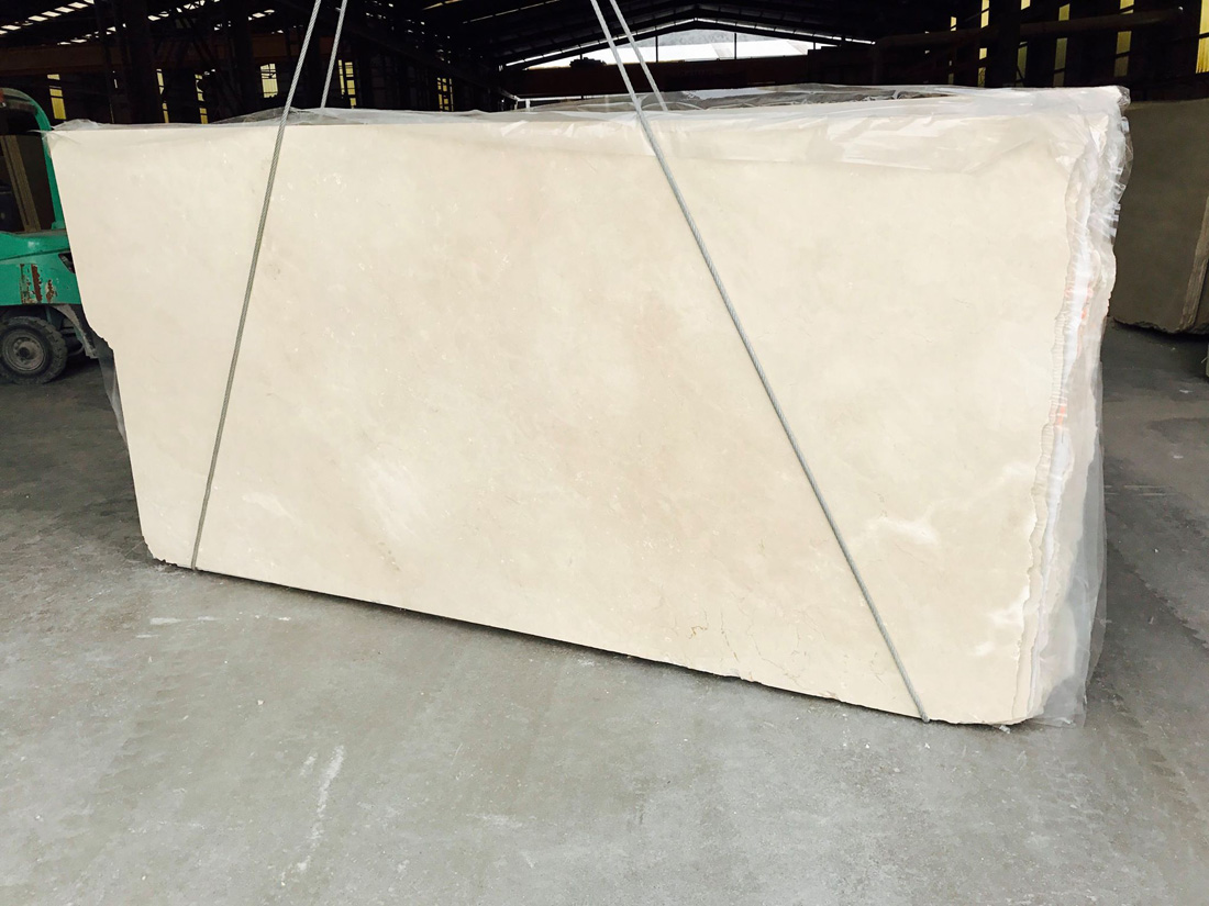 Spain Beige Marble Slabs Polished 2cm Crema Marfil Slabs