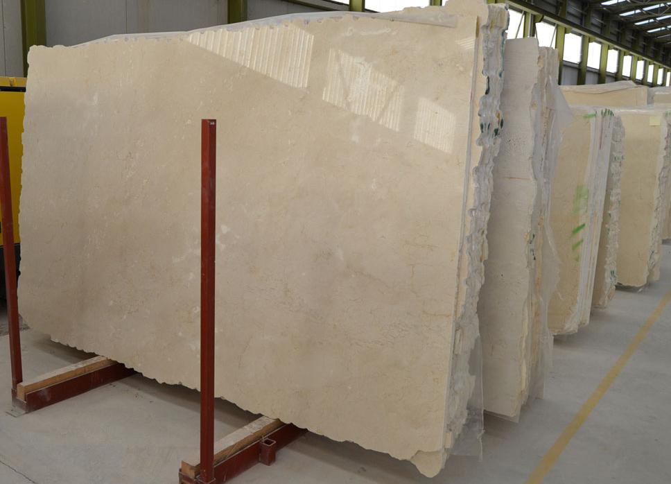 Spain Crema Marfil Marble Beige Slabs Polished Stone Marble Slabs