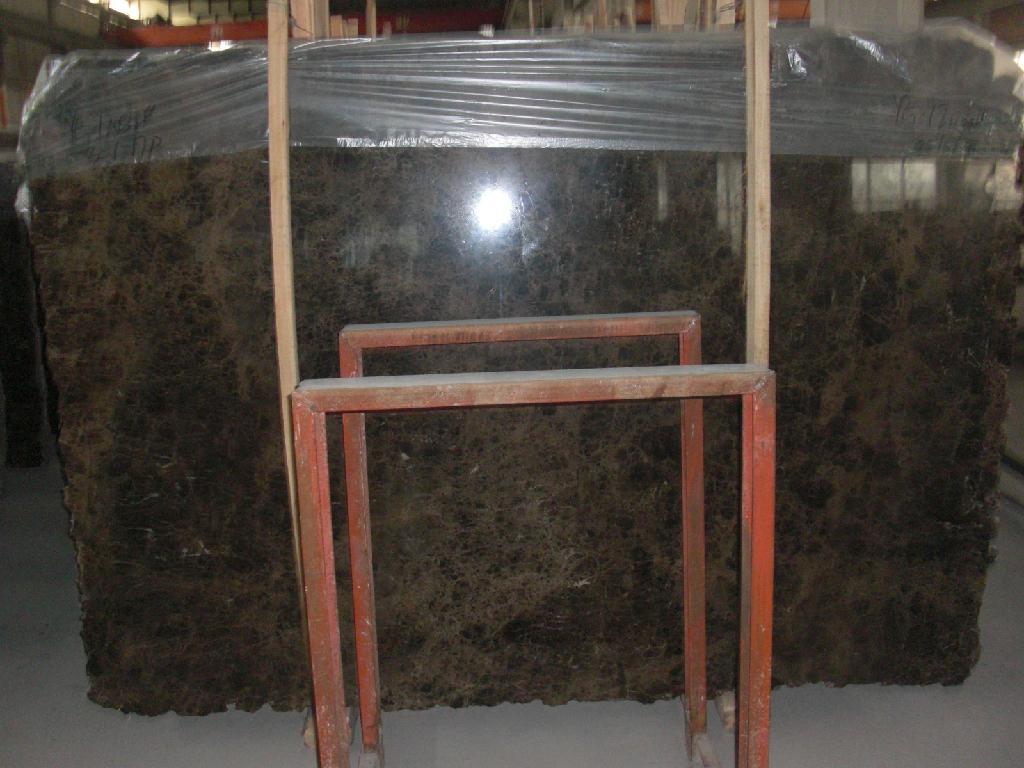 Spain Dark Emperador Marble Polished Marble Slabs